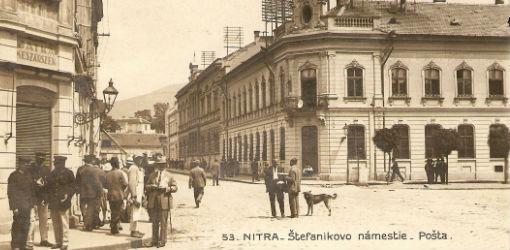 Nitra - Štefánikovo námestie - pošta